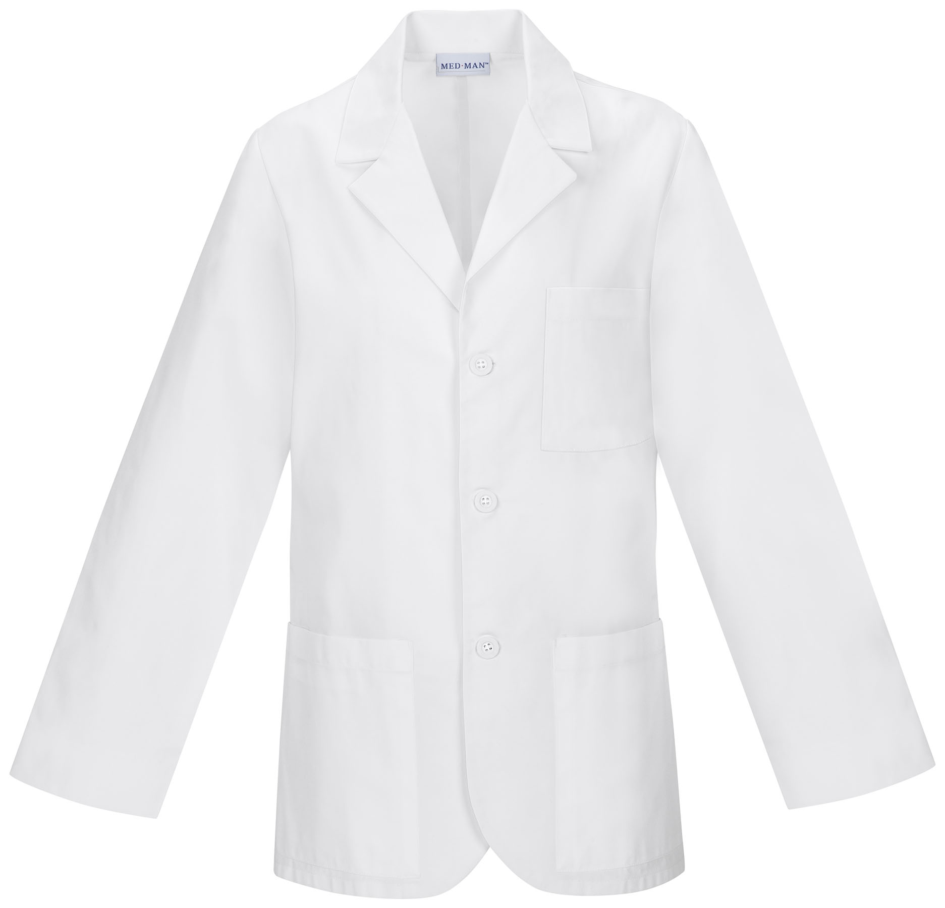 Med-Man 31 Inch Men's Consultation Lab Coat 1389A