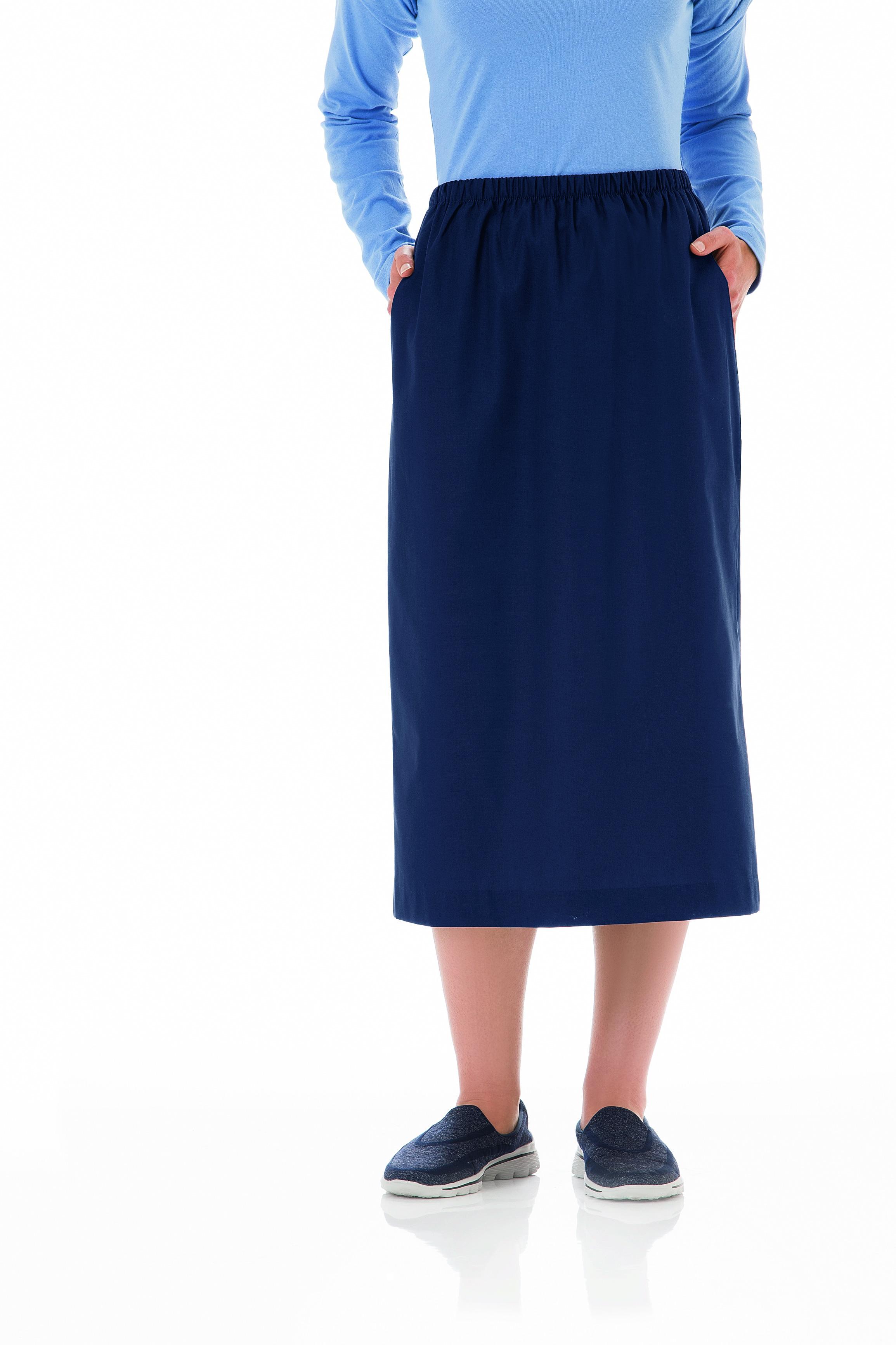 Fundamentals Ladies Elastic Waist Skirt 14231