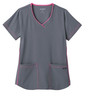 Jockey® Classic Ladies Stretch Sporty V-Neck Top 2339