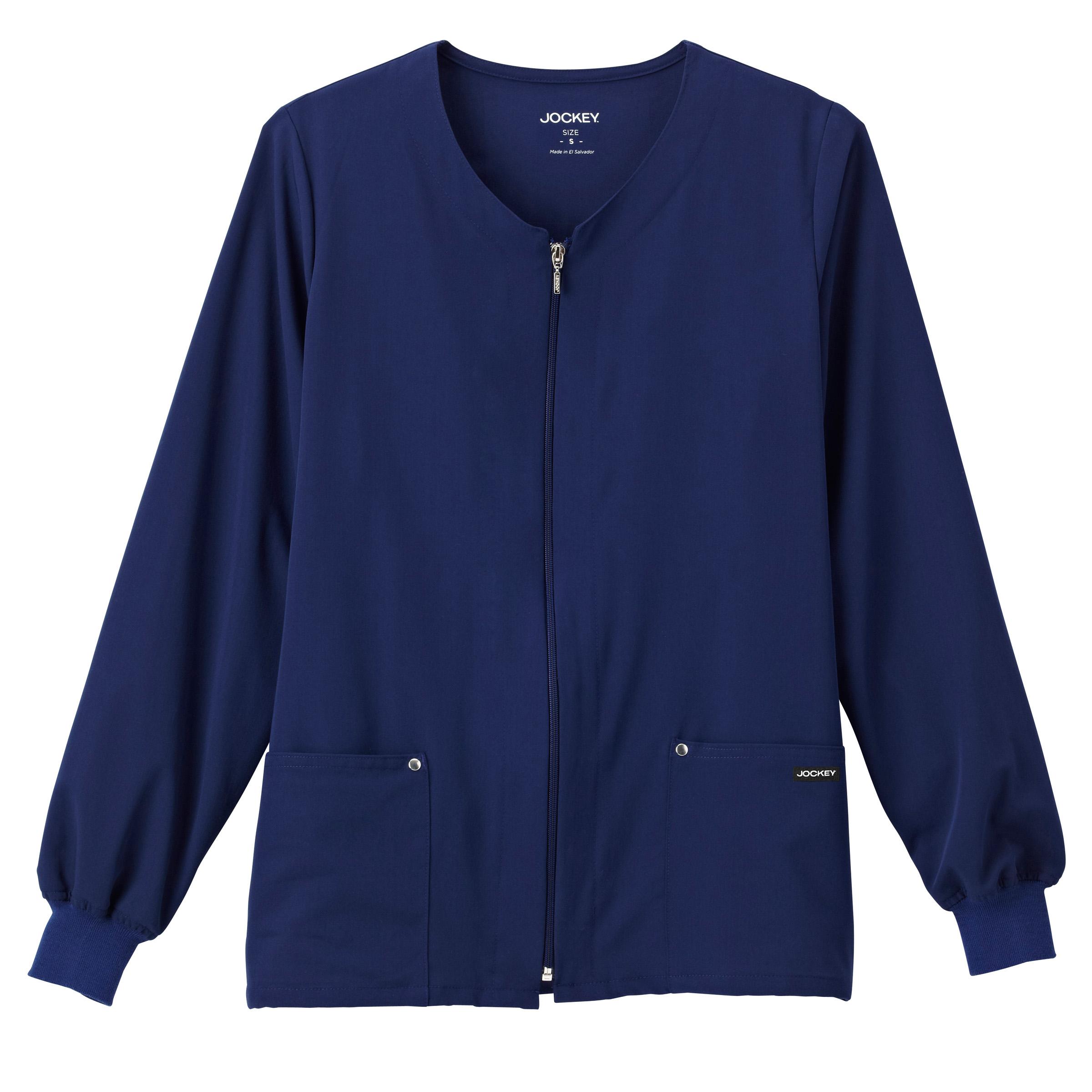 Jockey® Classic Ladies V-Neck Zip-Up Jacket 2378
