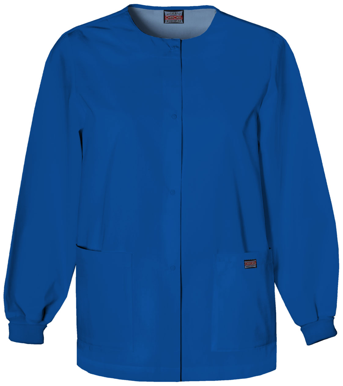 Program Item - Cherokee Originals Women's Snap Front Warm-Up Jacket 4350