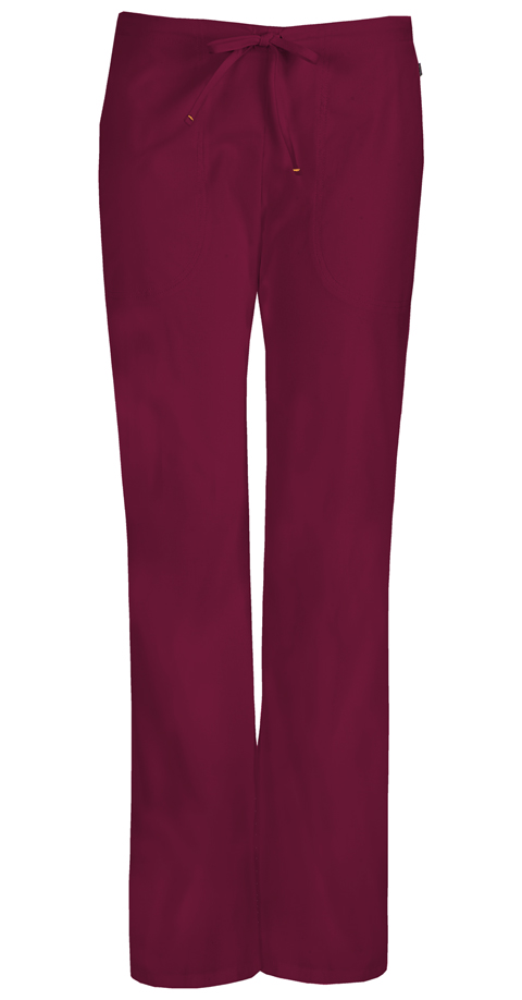 Mid Rise Moderate Flare Drawstring Pant 46002A