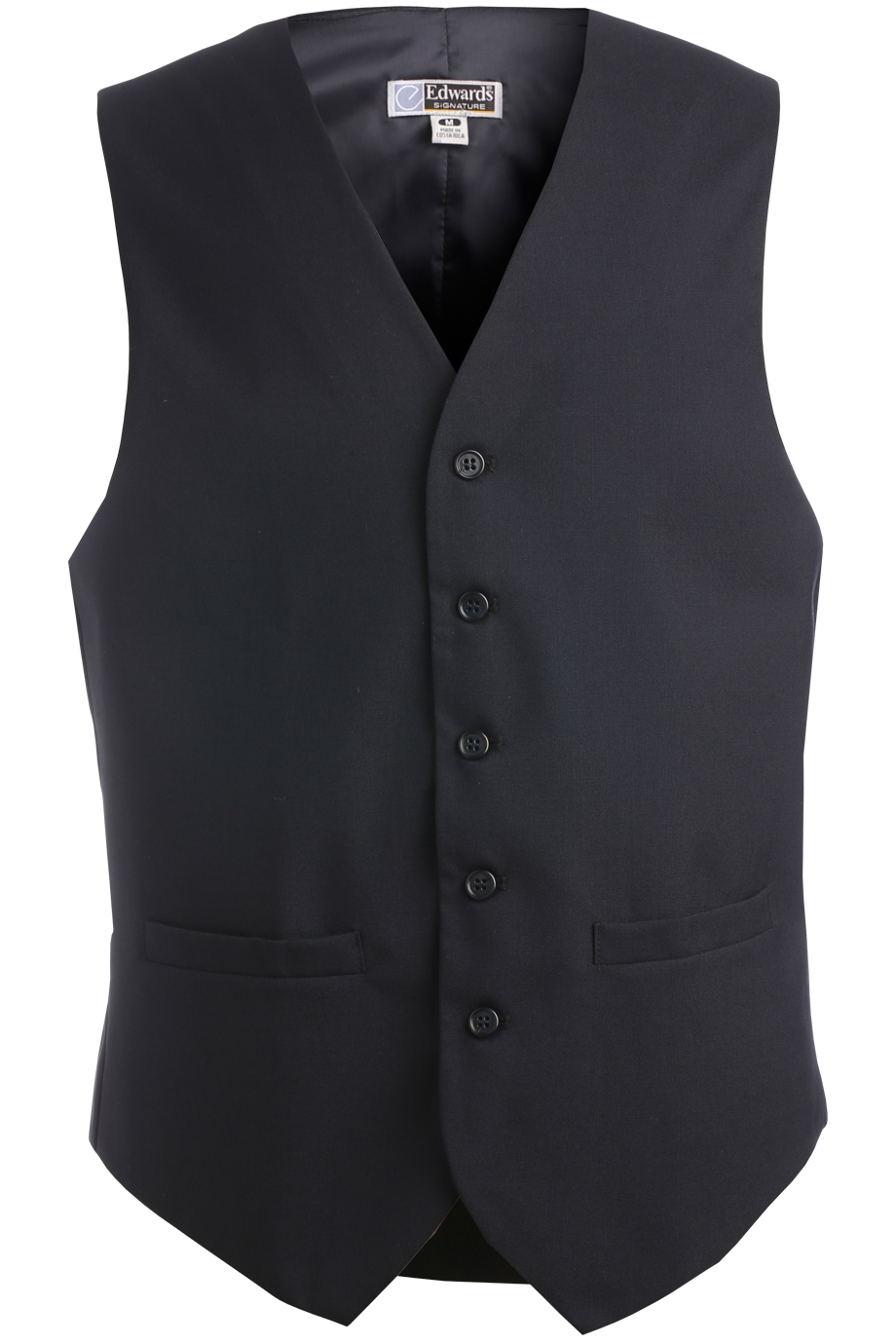 Men's High Button Vest 4680