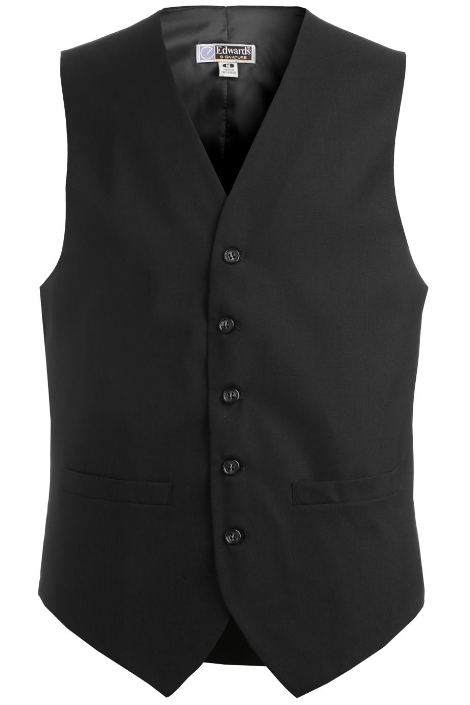 Men's High-Button Vest 4680