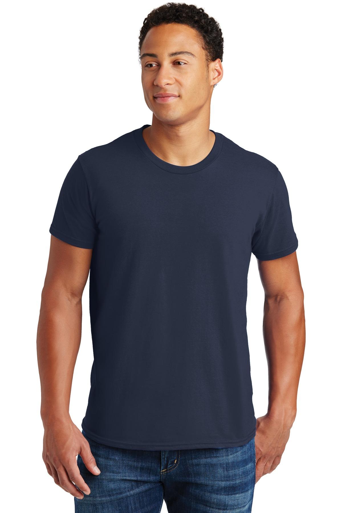 Hanes  - Nano-T  Cotton T-Shirt. 4980
