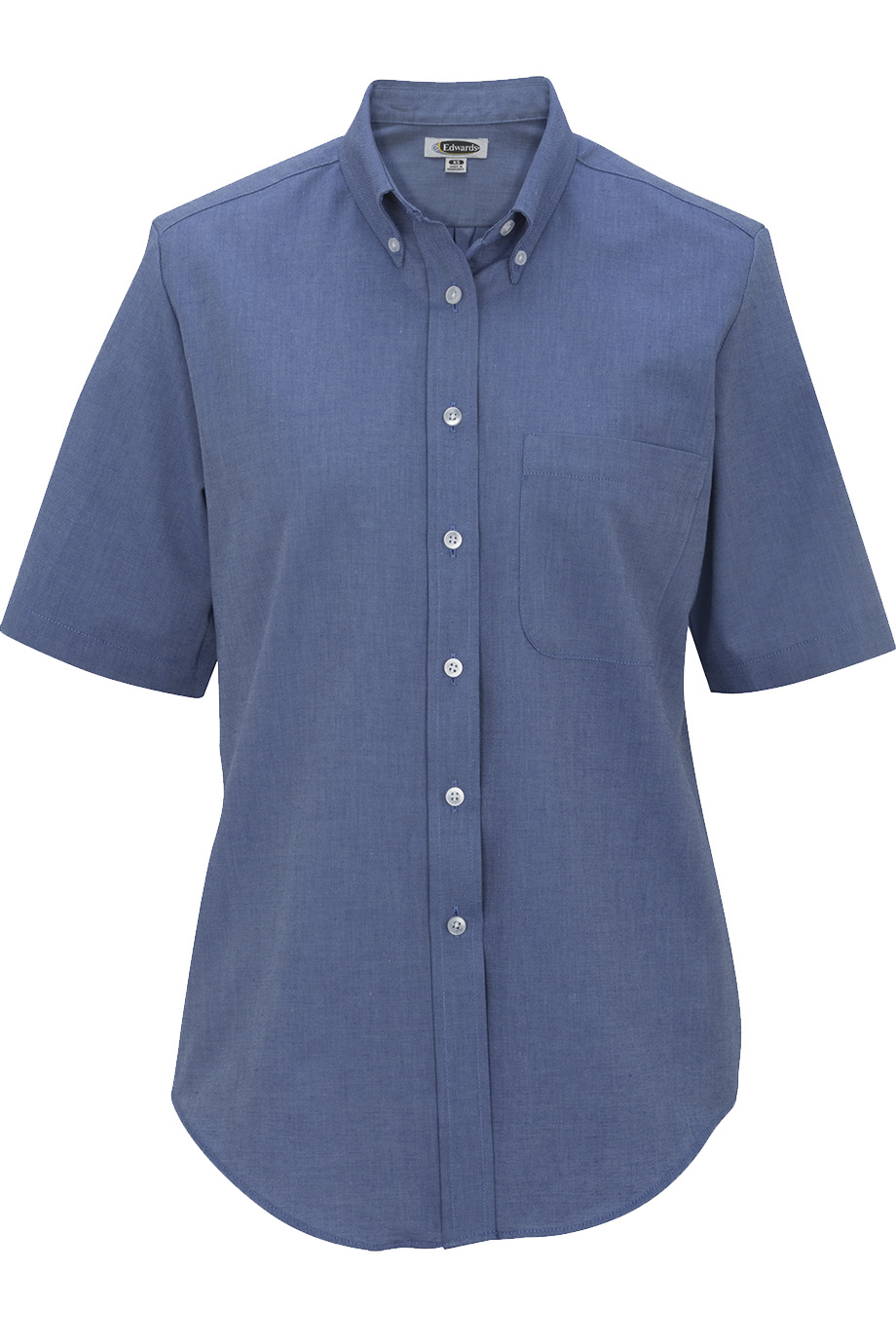 Ladies' Short Sleeve Oxford Shirt 5027