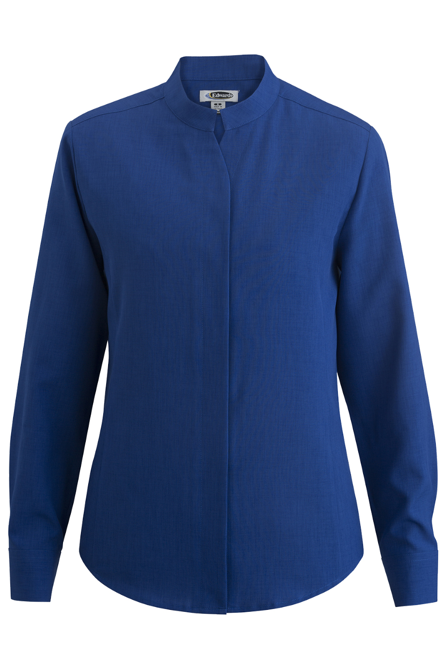 Ladies' Stand-Up Collar Shirt 5398