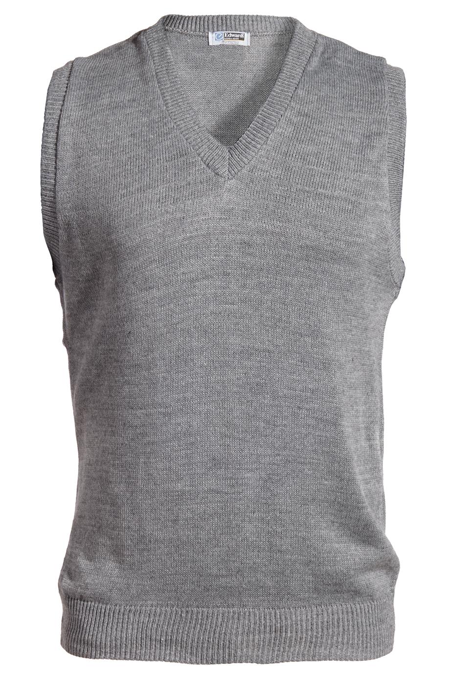 V-Neck Acrylic Sweater Vest 561