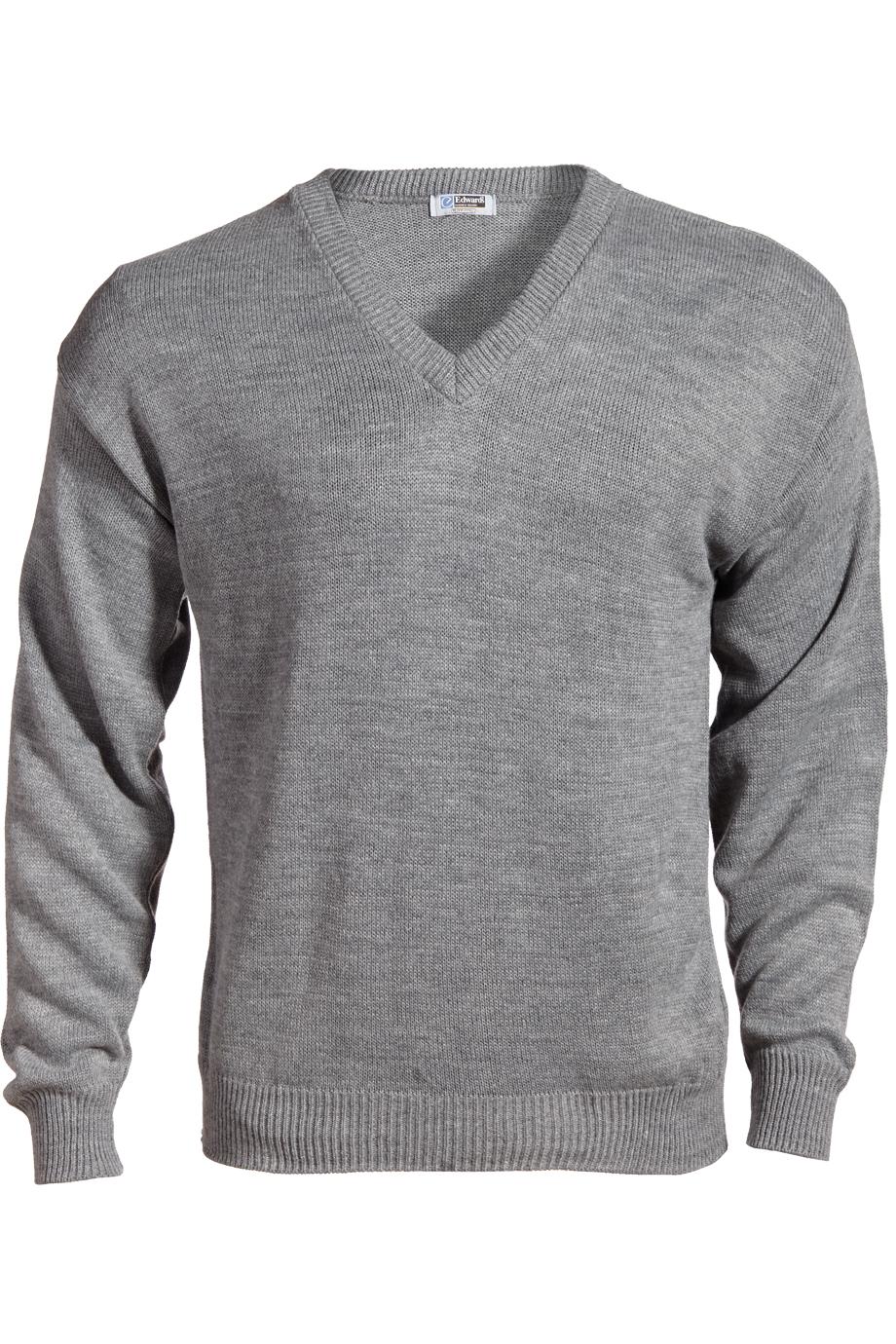 V-Neck Acrylic Sweater 565