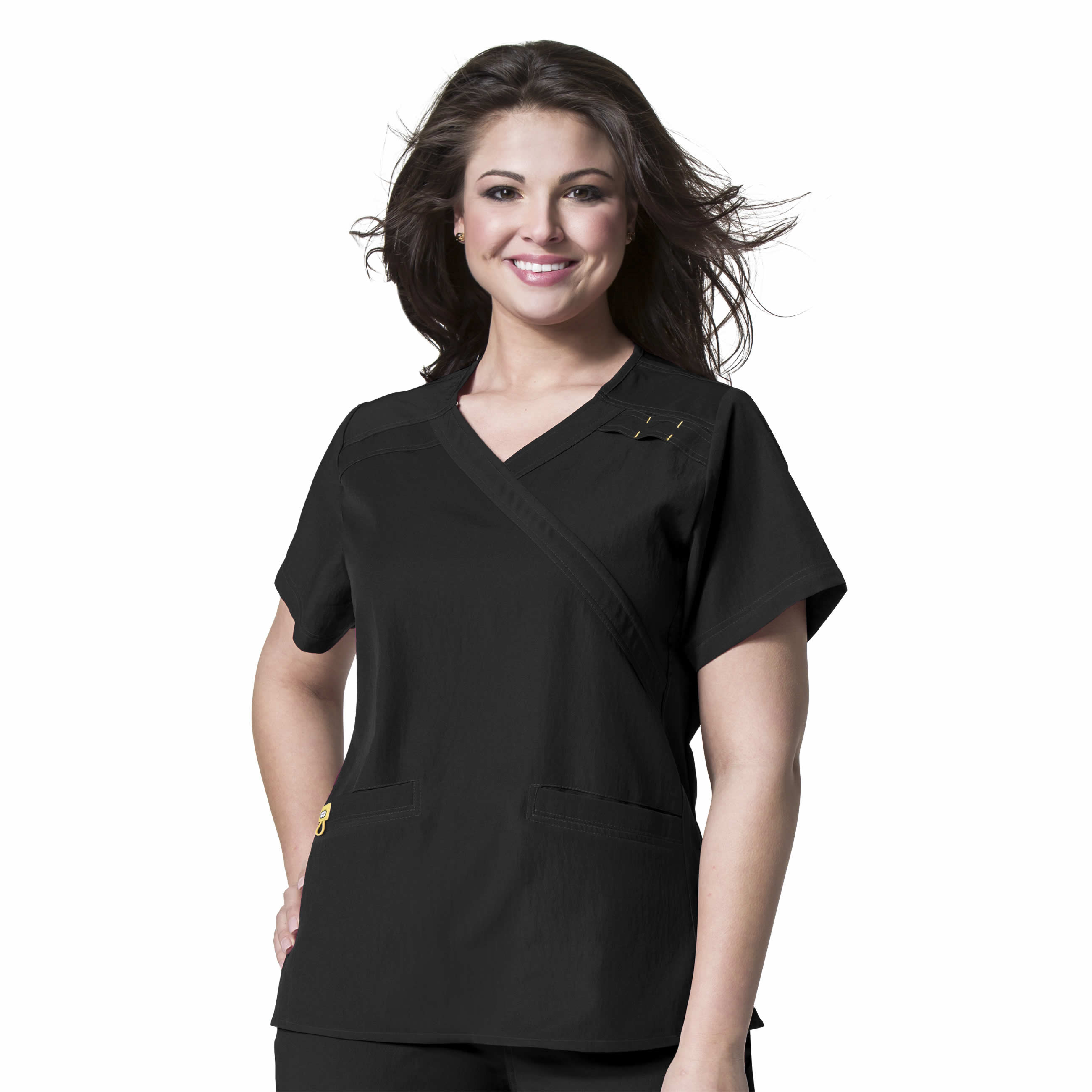 WonderWink Plus - Mock Wrap Top Plus - 6205