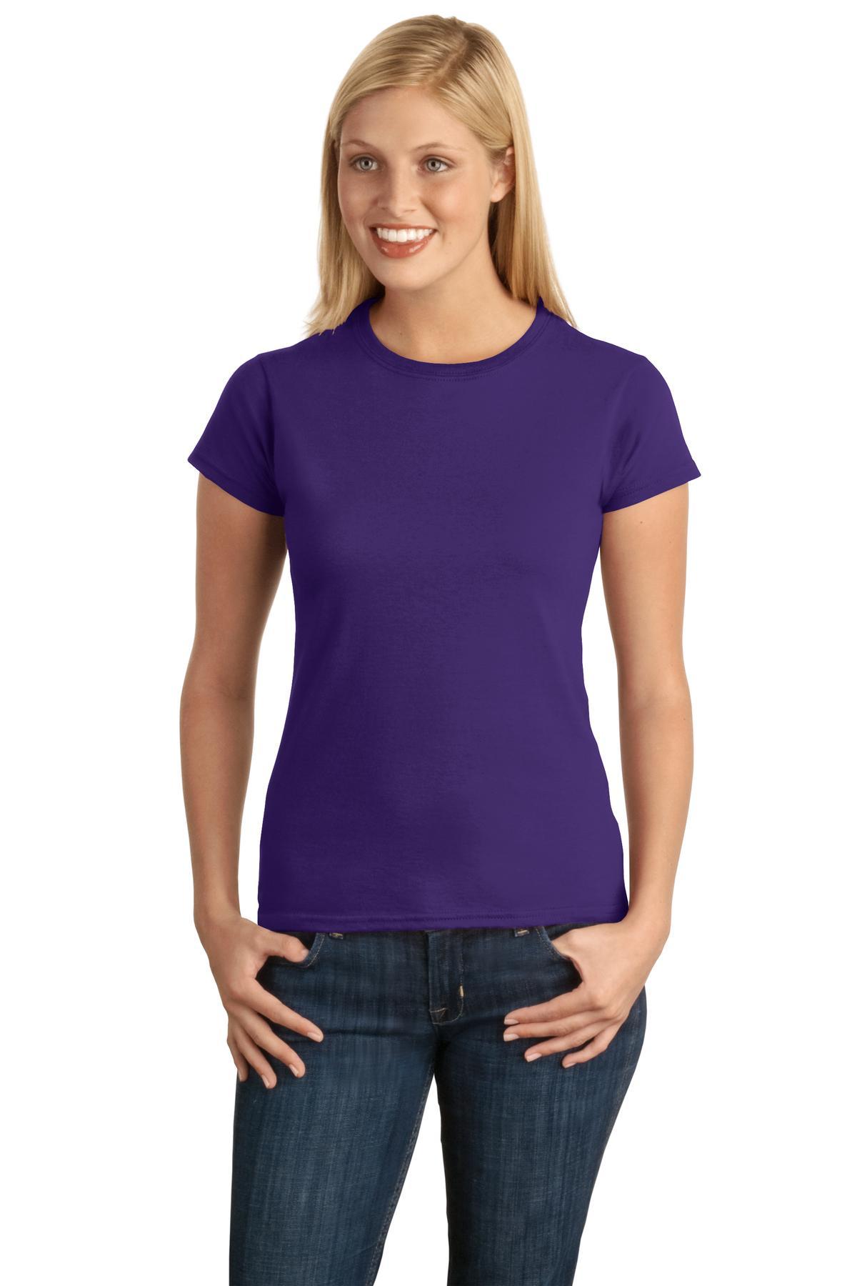 Gildan - Softstyle Junior Fit T-Shirt. 64000L