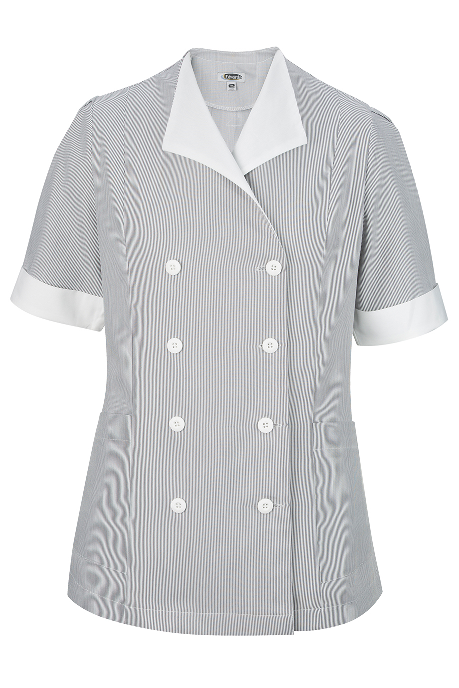 Ladies' Junior Cord Double-Breasted Tunic 7775