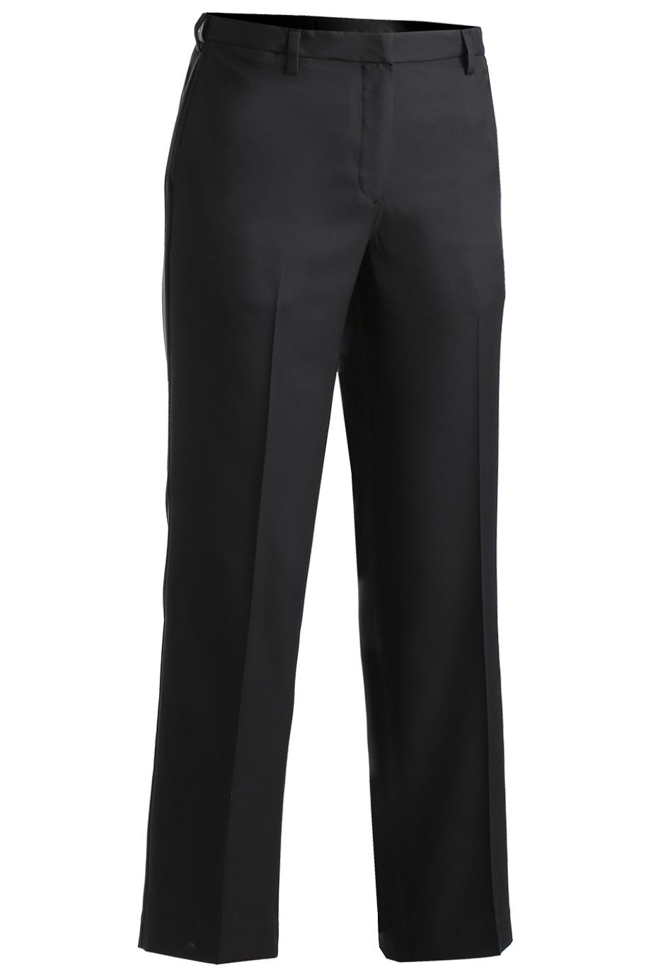 Ladies' Microfiber Flat Front Pant 8532