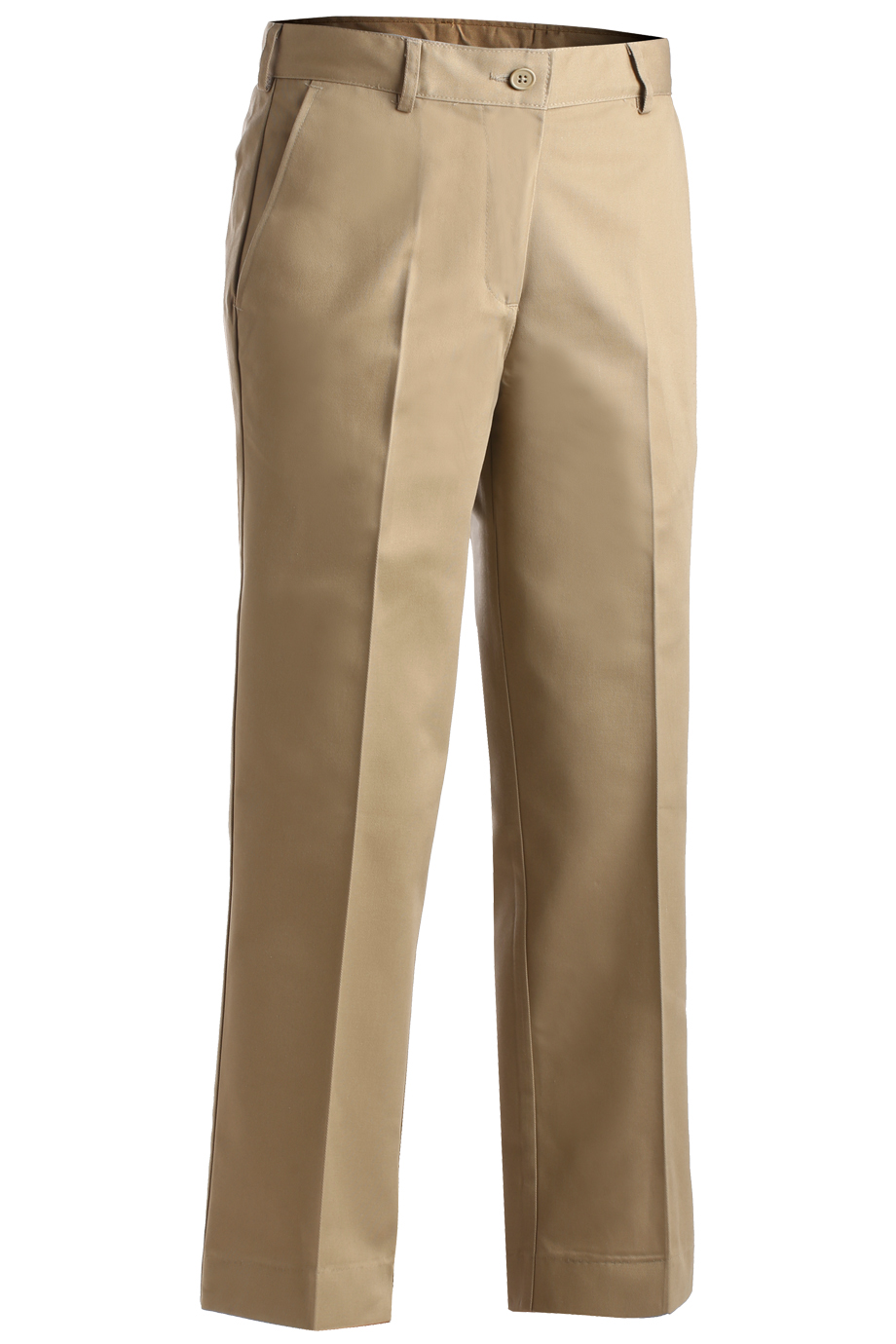 Ladies' Easy Fit Chino Flat Front Pant 8576
