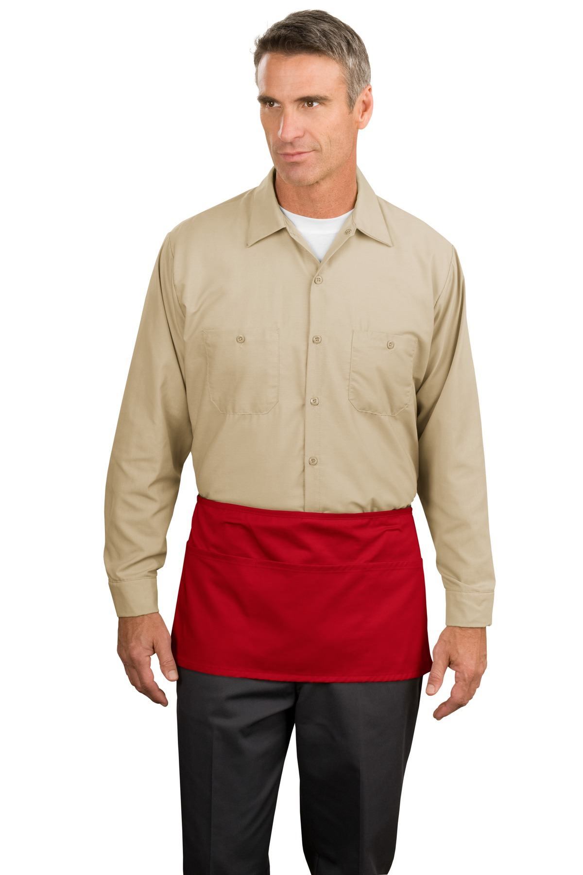 Port Authority - Waist Apron with Pockets.A515