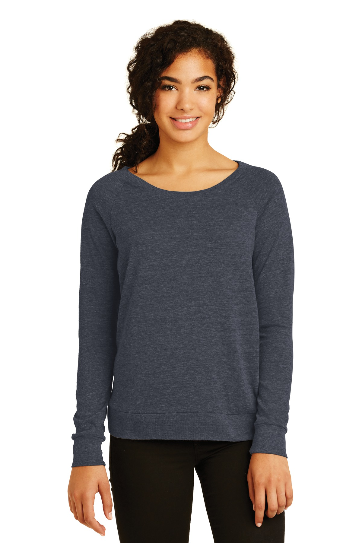 Alternative Eco-Jersey  Slouchy Pullover. AA1990