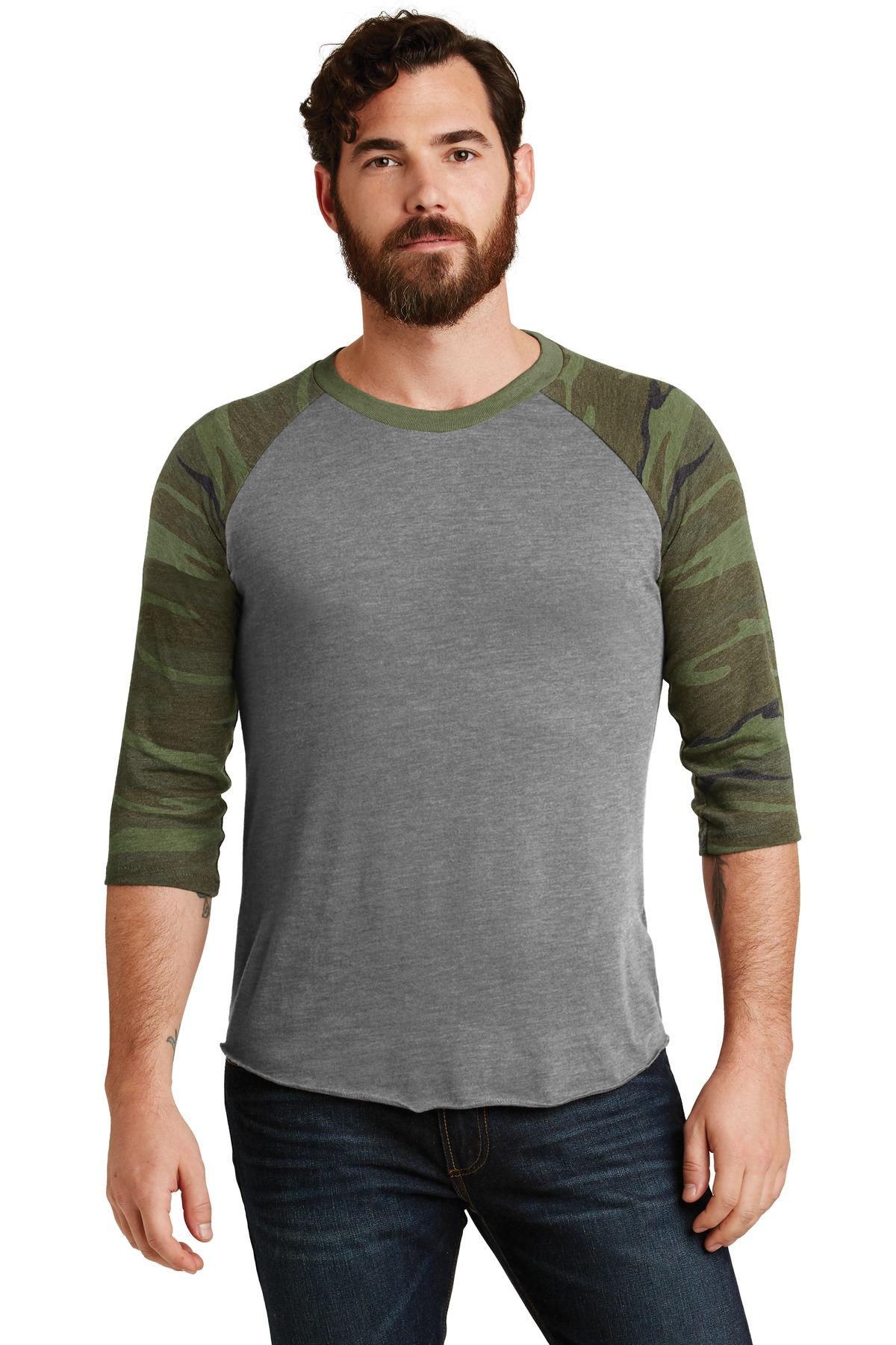 Alternative Eco-Jersey  Baseball T-Shirt. AA2089