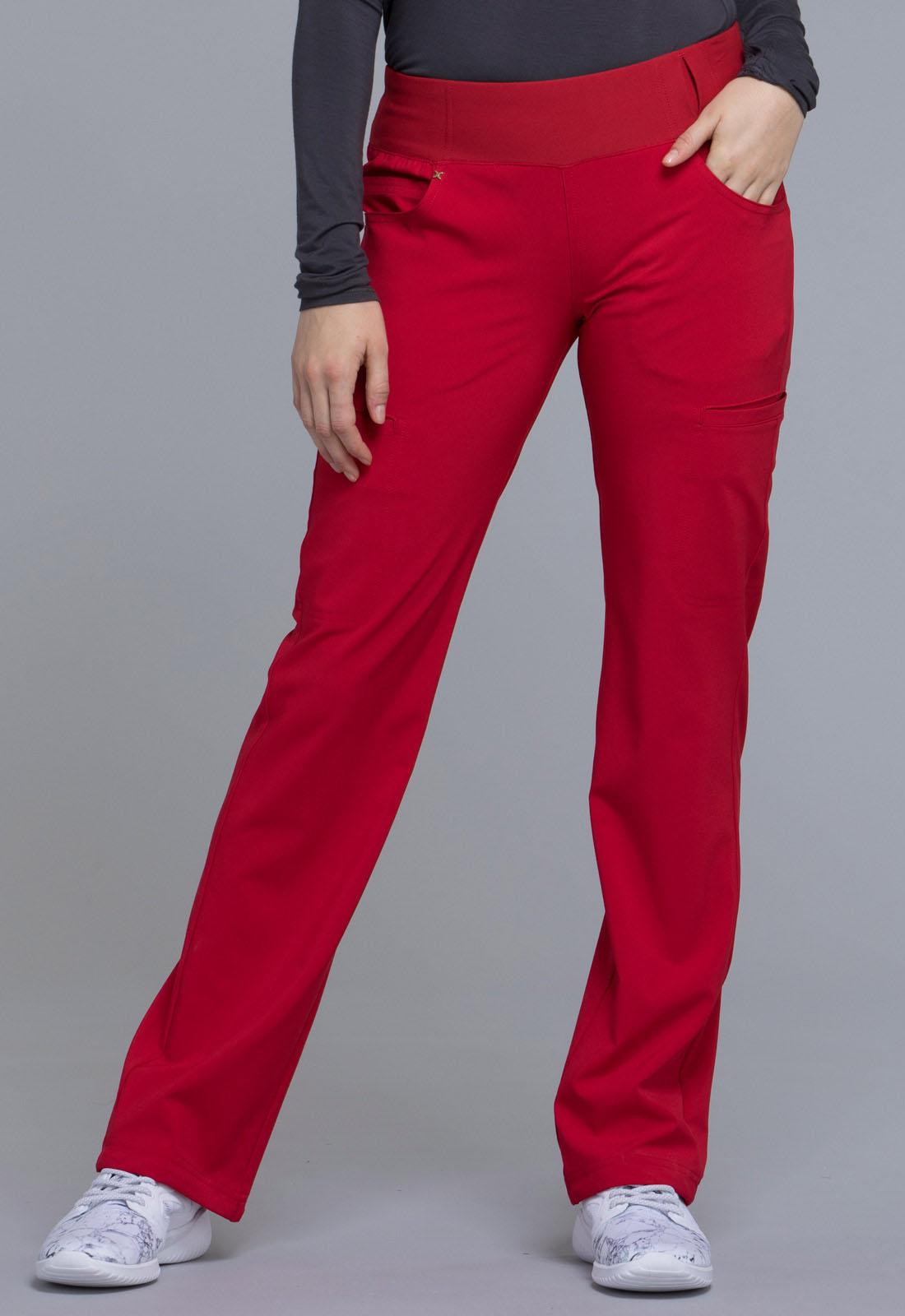 Mid Rise Straight Leg Pull-on Pant  CK002T