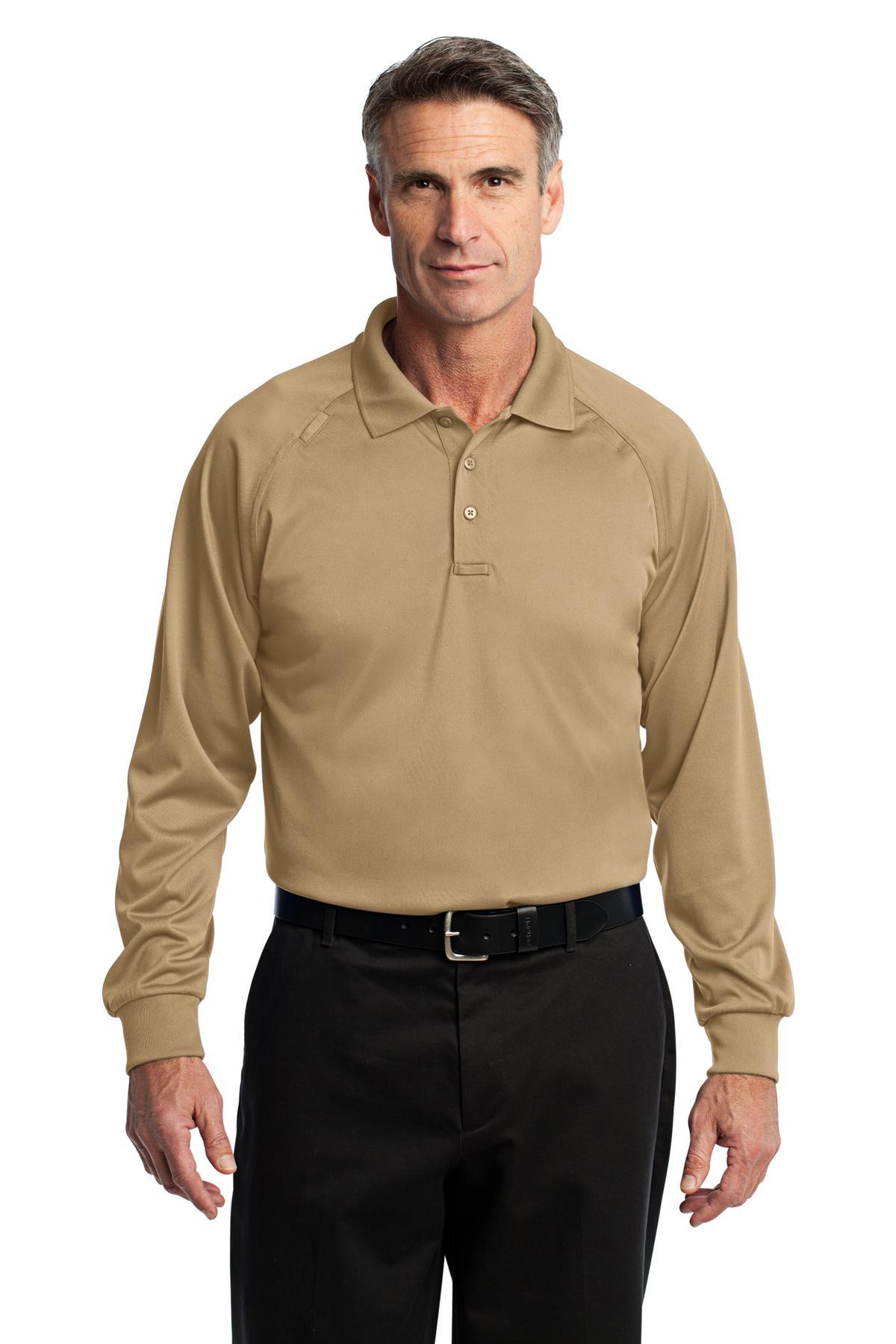 CornerStone - Select Long Sleeve Snag-ProofTactical Polo. CS410LS