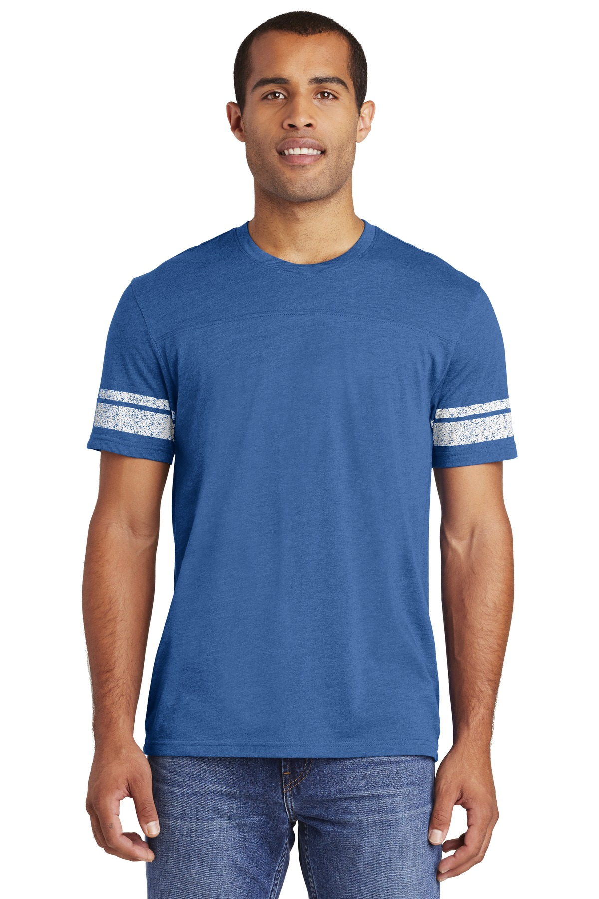 District Made  Mens Game Tee. DT376