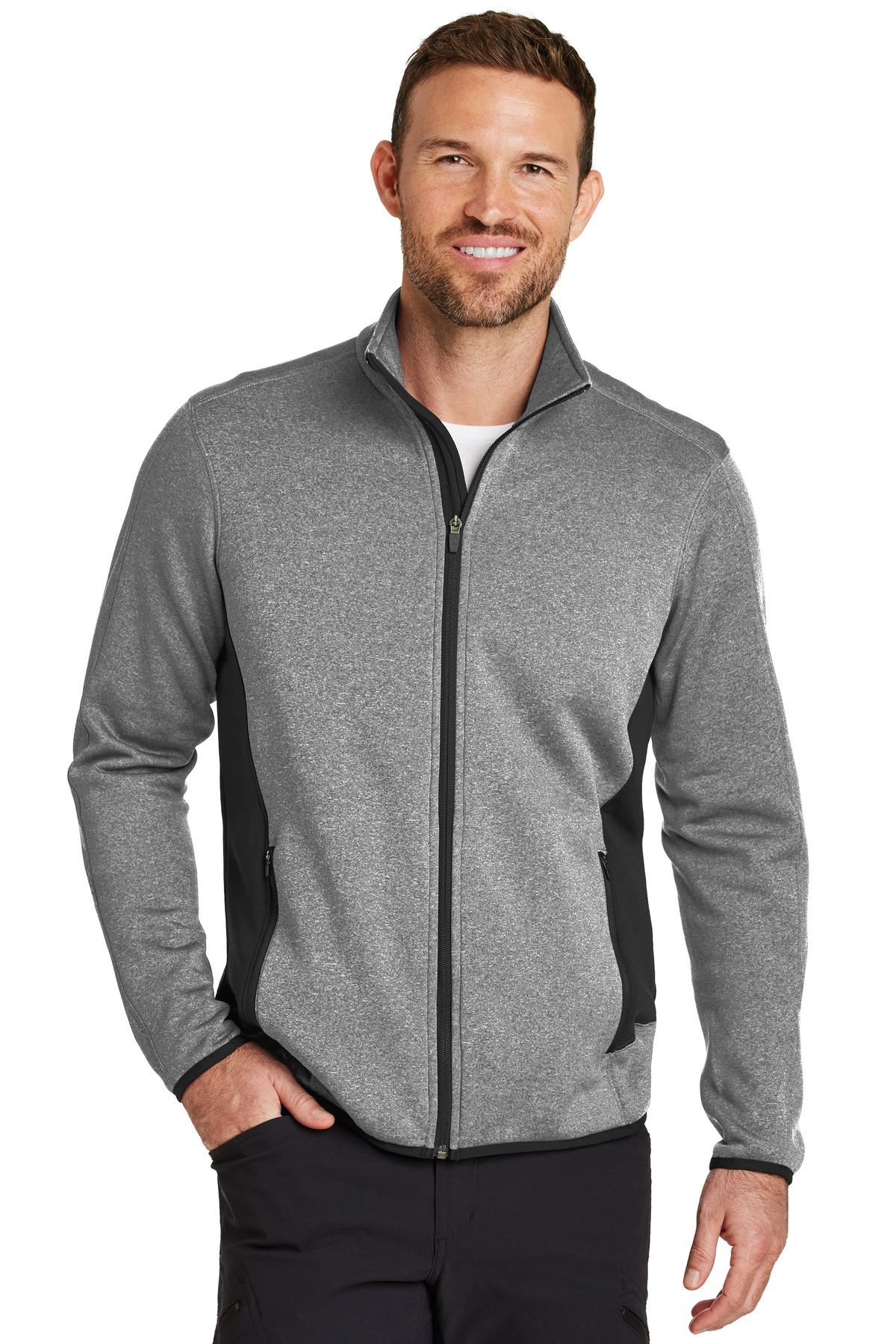 Eddie Bauer  Full-Zip Heather Stretch Fleece Jacket. EB238