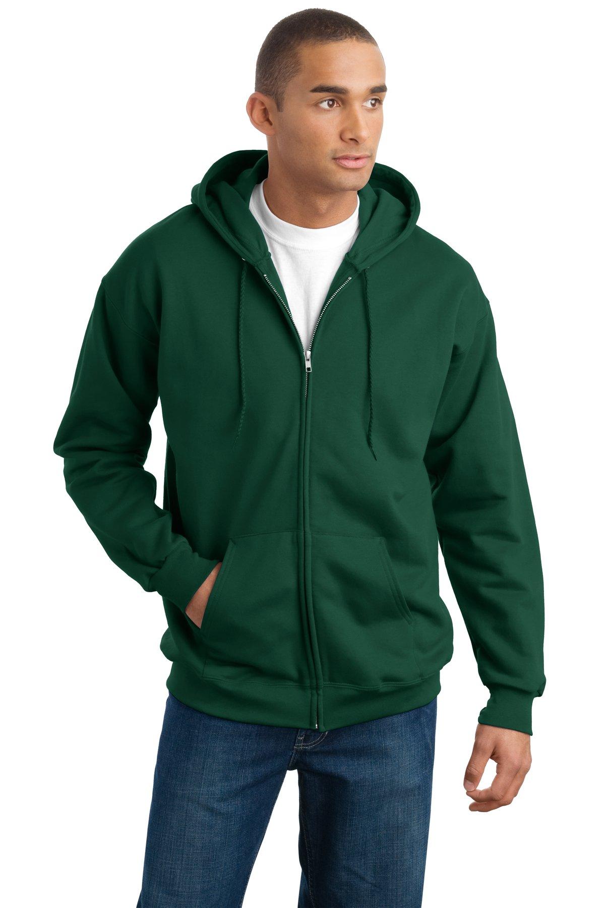 Hanes Ultimate Cotton - Full-Zip Hooded Sweatshirt. F283