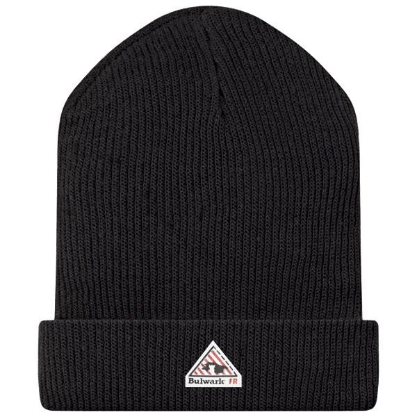 Knit Cap - Modacrylic HMC2BK