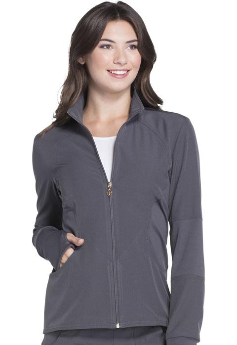 HeartSoul Zip Front Warm-up Jacket HS315