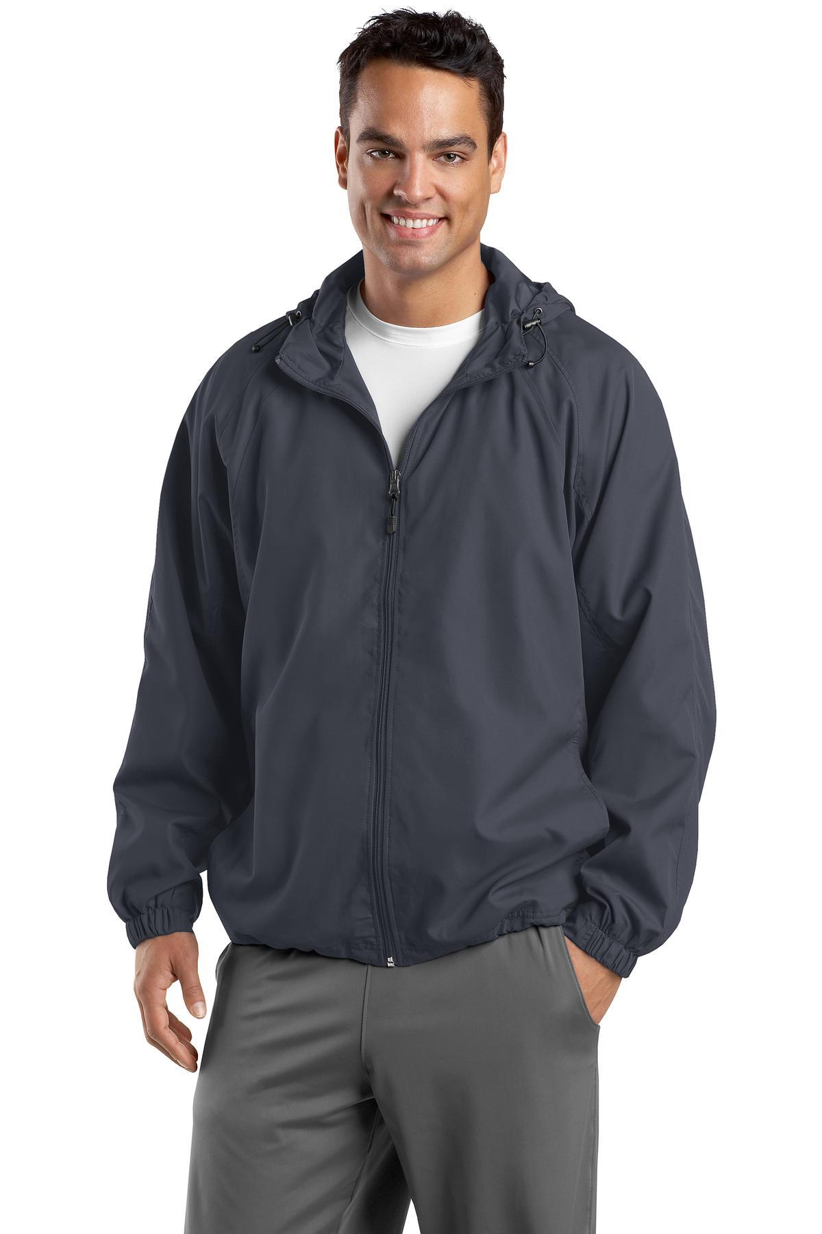 Sport-Tek - Hooded Raglan Jacket. JST73