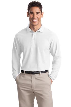 Port Authority - Long Sleeve Silk Touch Polo. K500LS