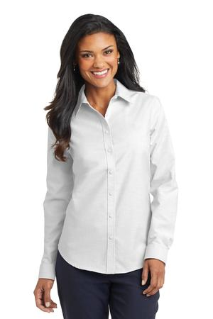 Port Authority Ladies SuperPro Oxford Shirt.L658