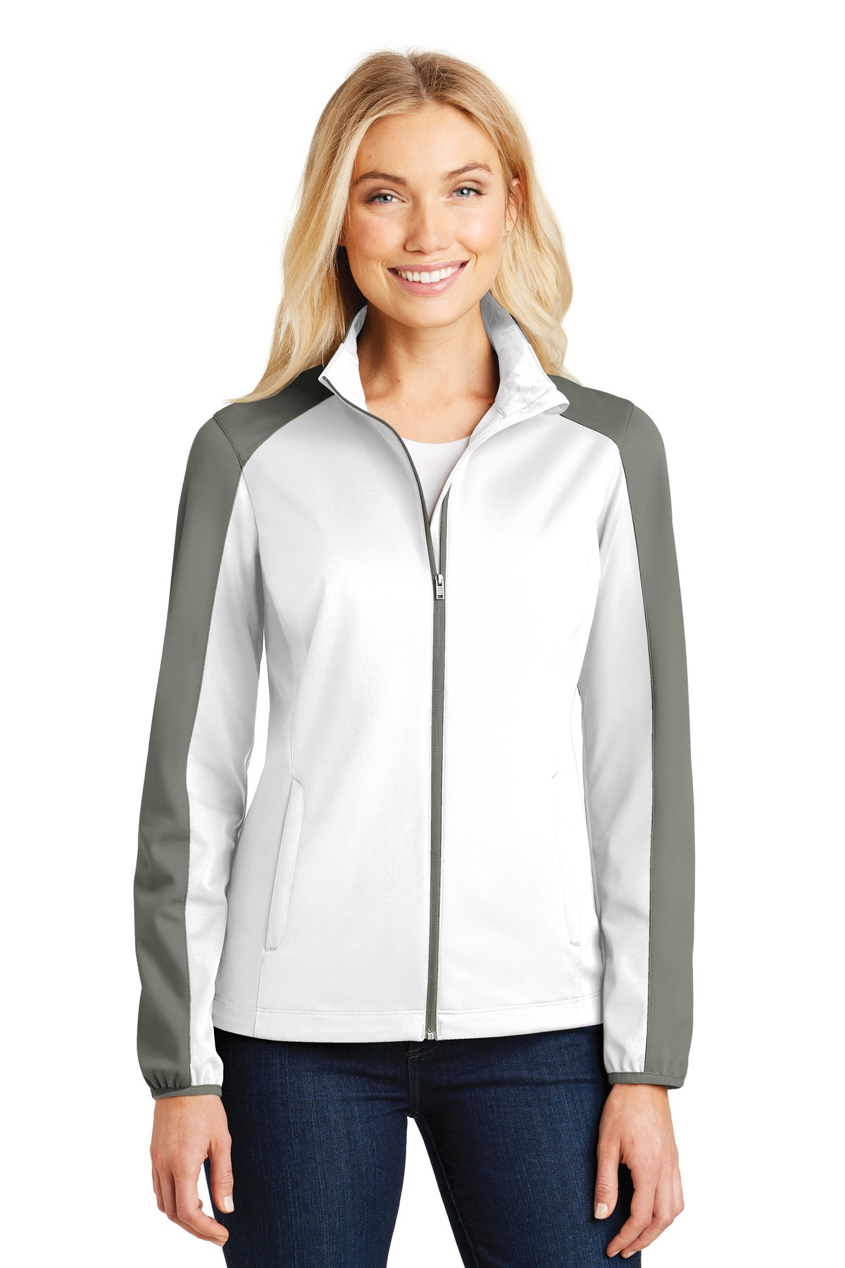 Port Authority Ladies Active Colorblock Soft Shell Jacket L718