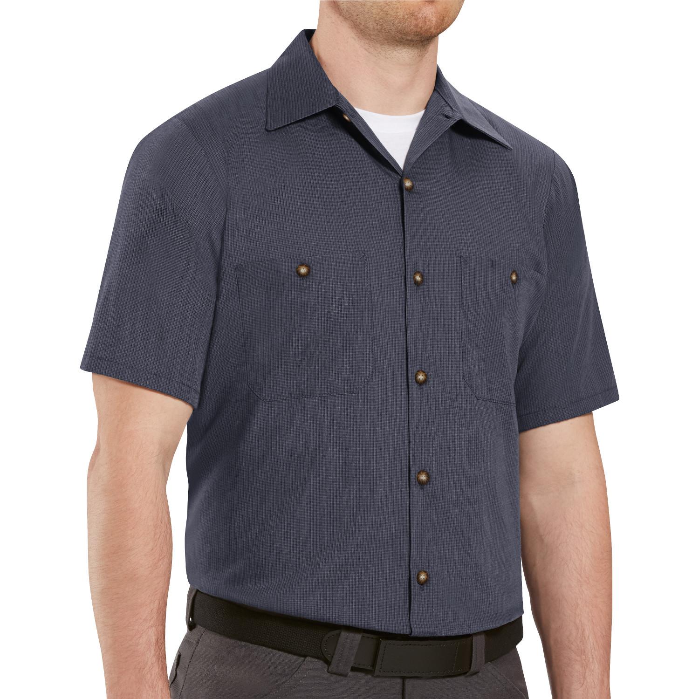 c83c545ce4 Emerson Uniforms Men s Geometric Micro-Check Work Shirt SP24KB