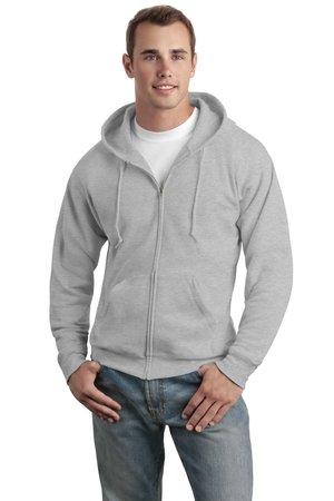 Hanes - Comfortblend EcoSmart Full-Zip Hooded Sweatshirt. P180