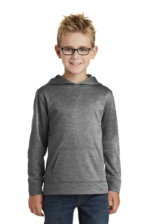Port and Company - Youth Pullover Hooded Sweatshirt. PC90YH