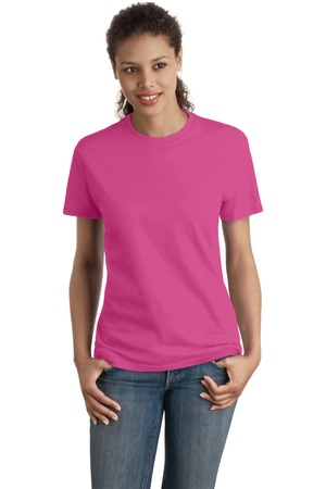 Hanes - Ladies Nano-T Cotton T-Shirt. SL04