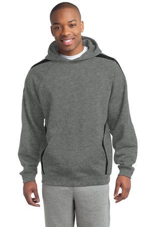Sport-Tek - Sleeve Stripe Pullover Hooded Sweatshirt. ST265