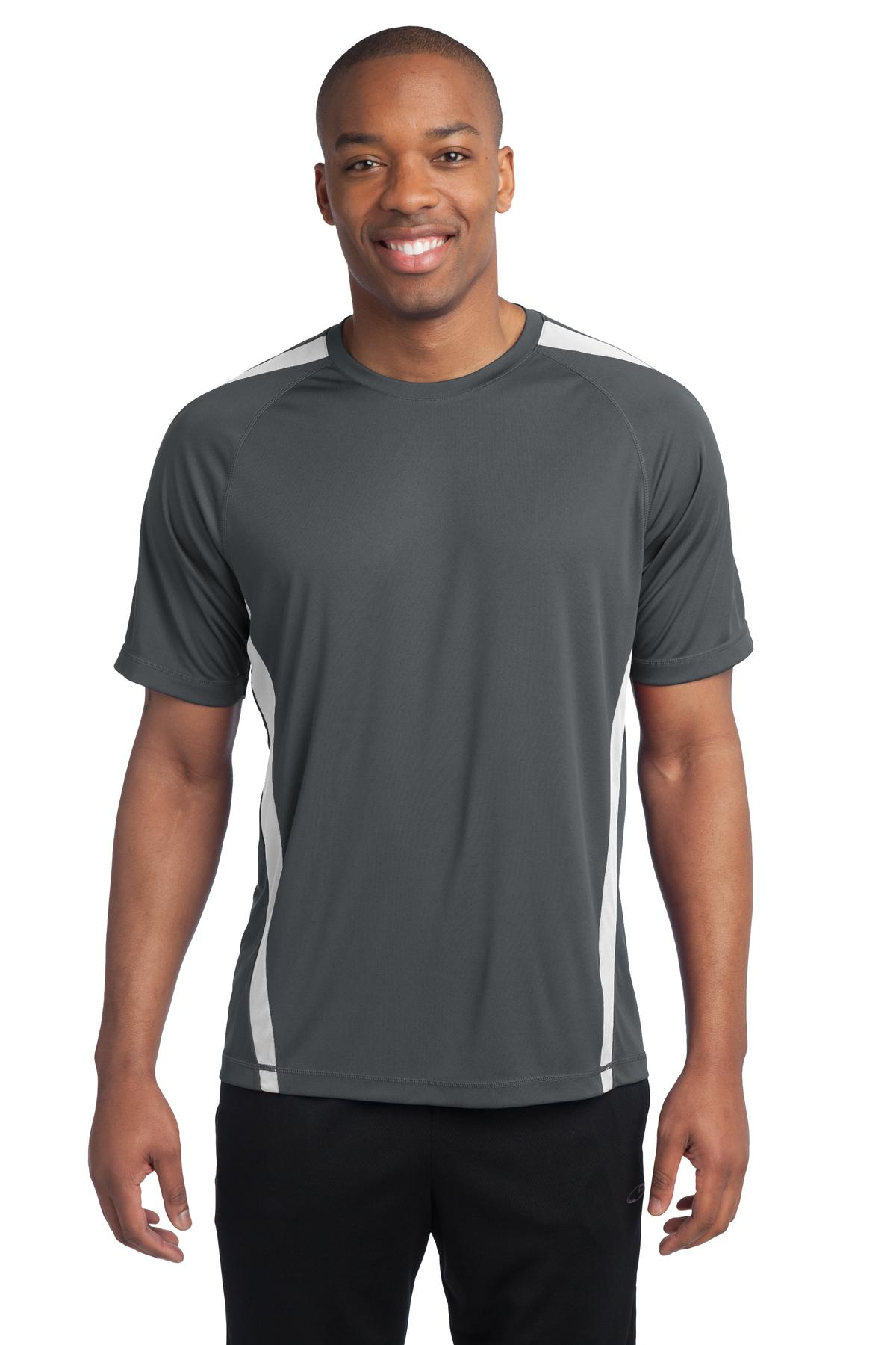 Sport-Tek - Colorblock Competitor Tee. ST351