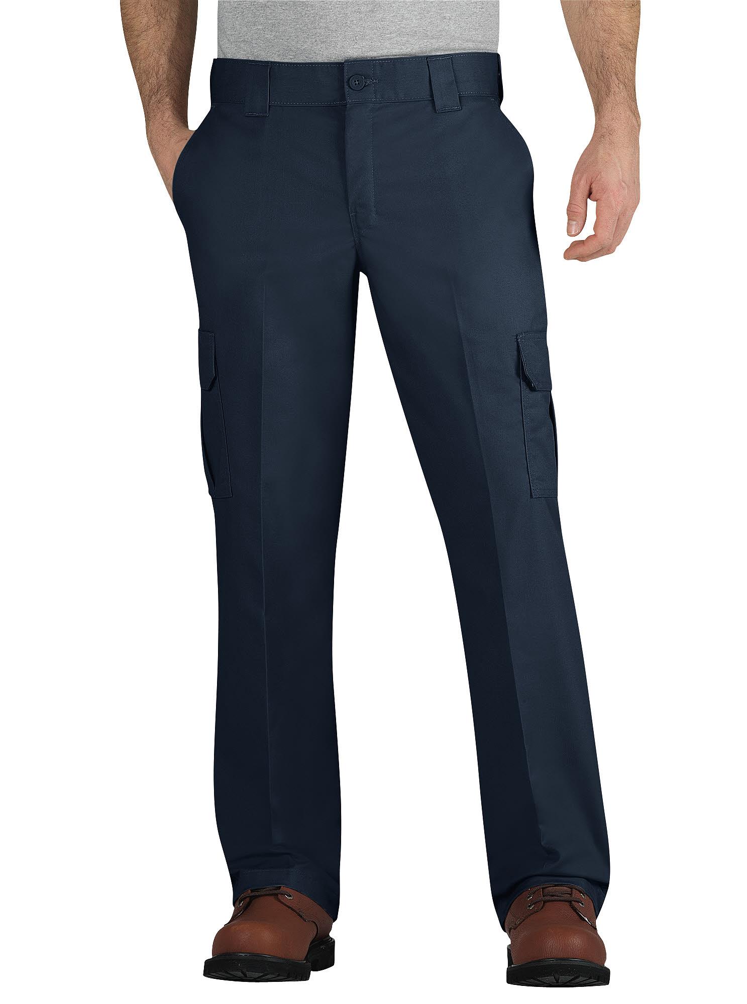 Dickies Regular Fit, Straight Leg Twill Cargo Pant WP595DN