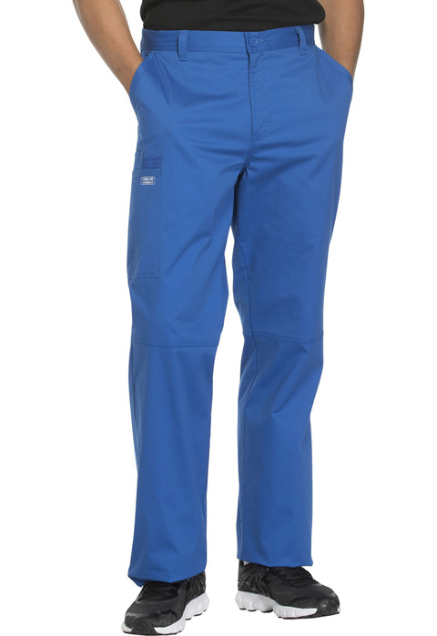 Cherokee Workwear Men's Fly Front Pant Tall WW200T