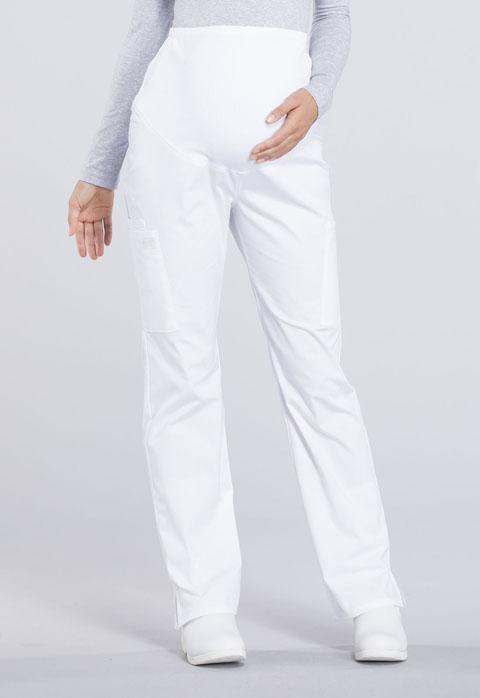 Cherokee Workwear Maternity Straight Leg Petite Pant WW220P